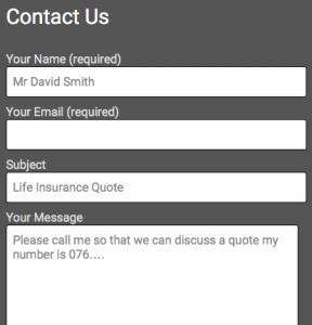 CHI contact