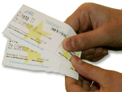 Traditional or new policy - Cinema Tickets