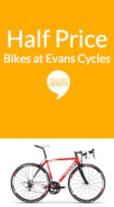 Rewards Evans cycles